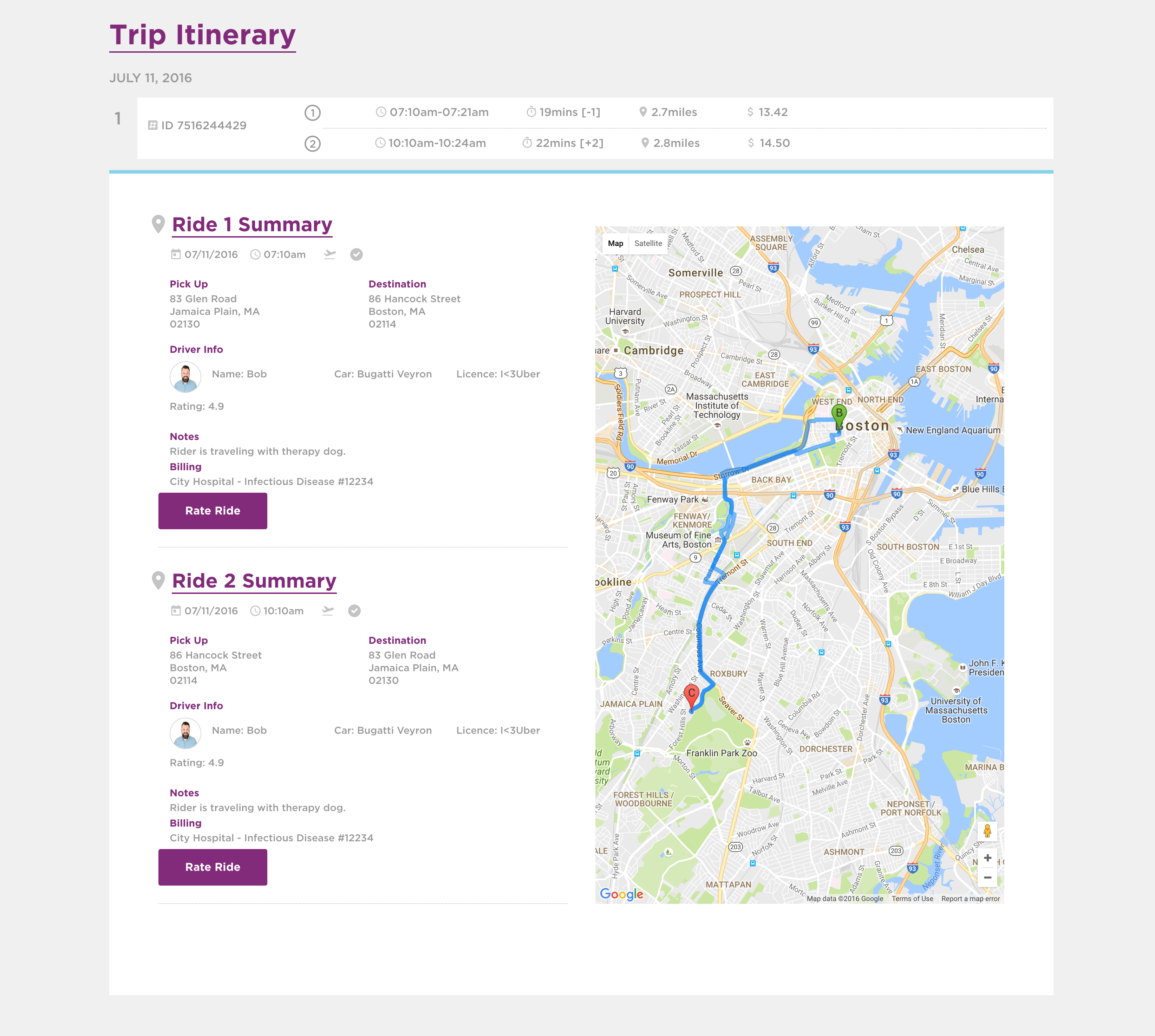 Nonemergency Medical Transportation Amp Rideshare Services
