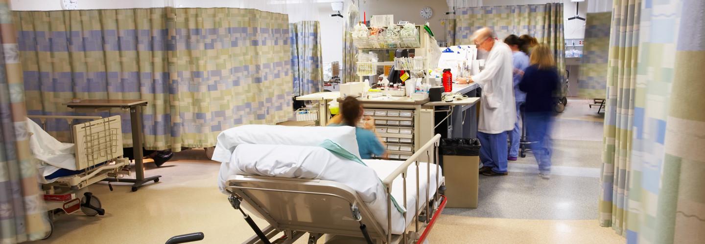Hospital ER Desk