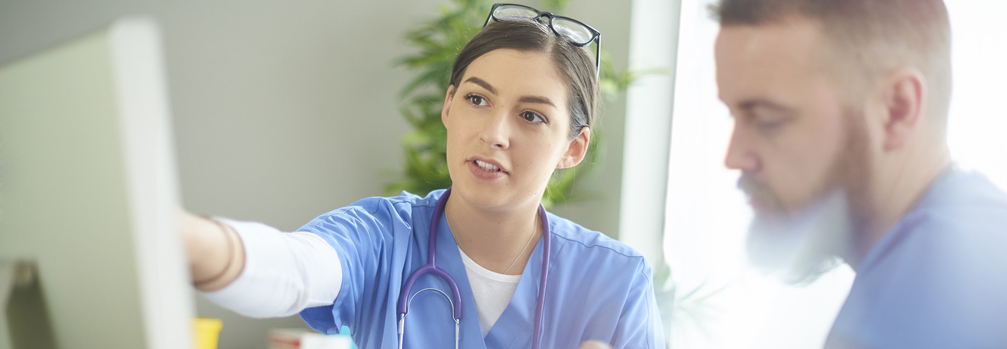 Nurses discuss analytics