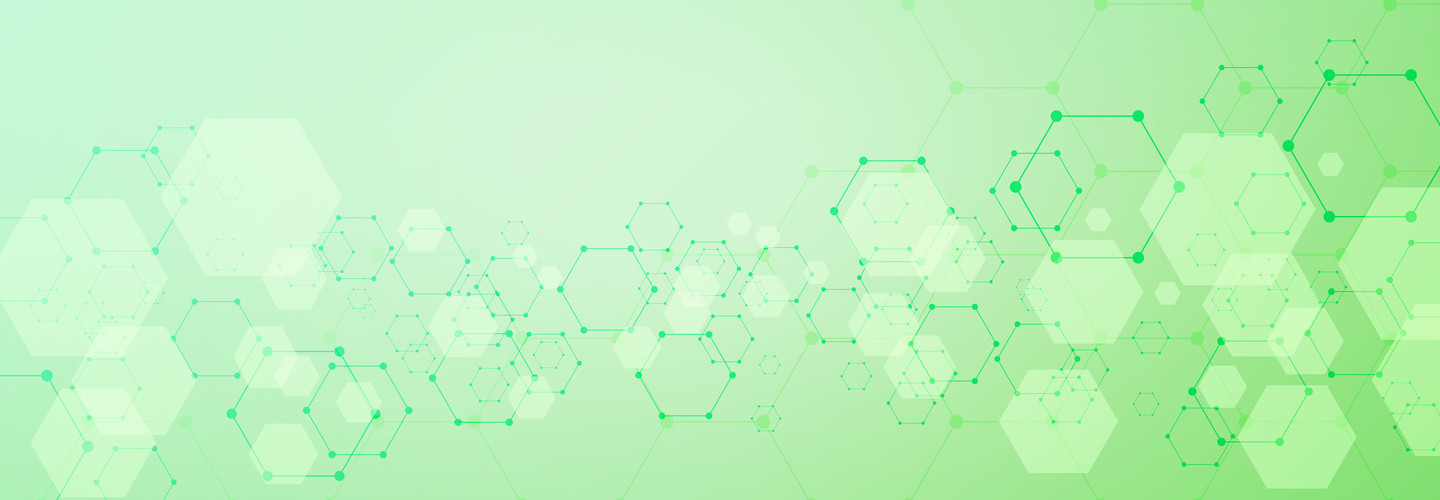 Abstract geometric shape technology background
