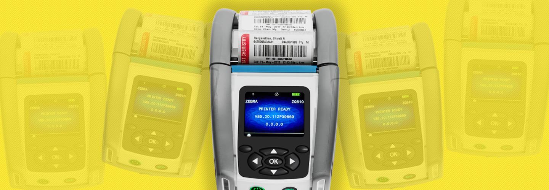 Zebra ZQ610-HC mobile printer