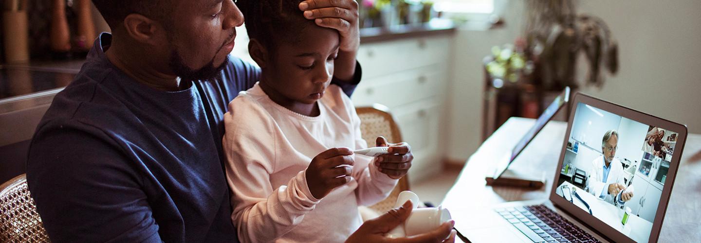 child telehealth visit