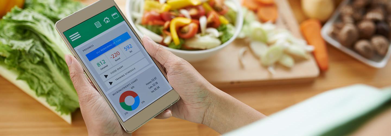 health app on phone
