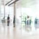 Hospital blurred