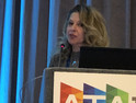 Erin Denholm, President and CEO of Trinity Health At Home, spoke at ATA19 about how her organization has empowered patients through technology.
