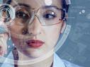 Doctor using AR glasses