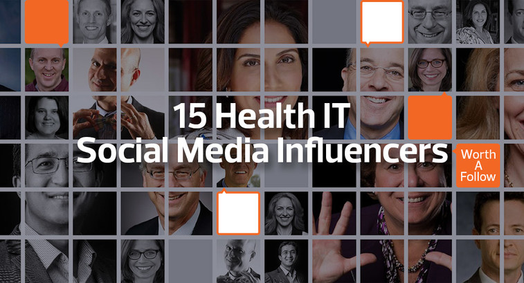 15 social media influencers NHIT Week