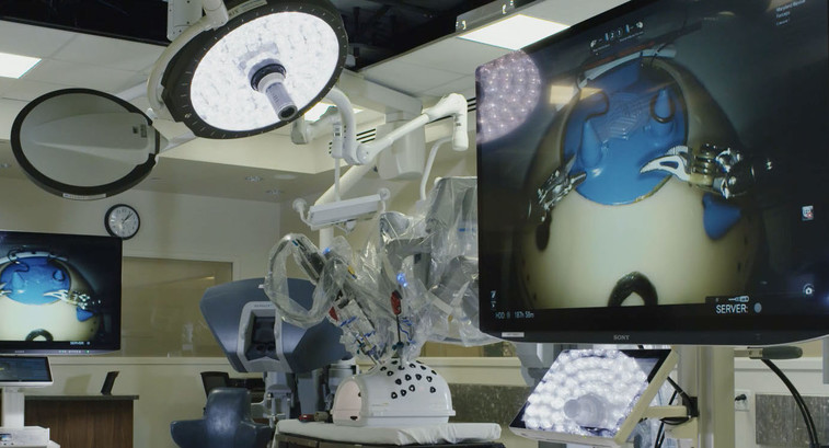 Sony's 4K/3D medical displays at the Florida Hospital Nicholson Center.