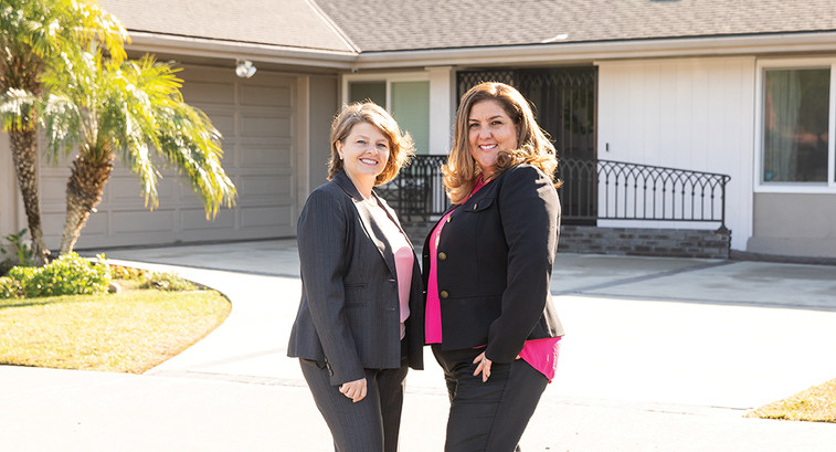 Easterseals Southern California CIO Stacie DePeau, left, and Lupe Trevizo-Reinoso, Vice President of Living Options.