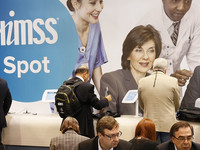 Attendees at the 2017 HIMSS conference